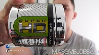 Cellucor Super-HD Powder Fat Burner Supplement - MassiveJoes.com RAW REVIEW SuperHD Loss Weight