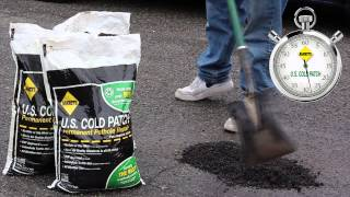 U.S. Cold Patch 60 Second Pothole Repair