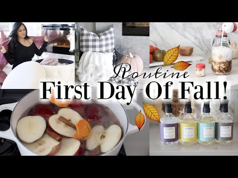 First Day Of Fall Routine! 🍁 #iHeartFall Ep 13 - MissLizHeart