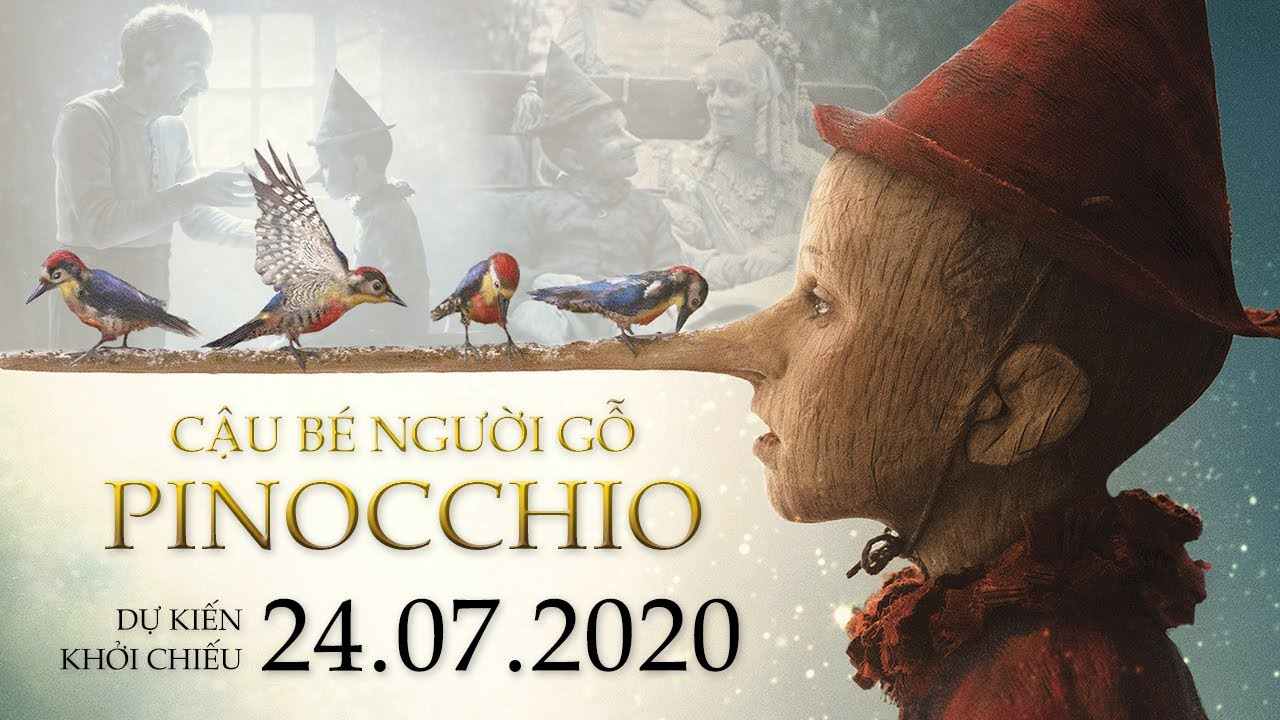 Pinocchio 2020: Trailer phim 'Cậu bé người gỗ Pinocchio'