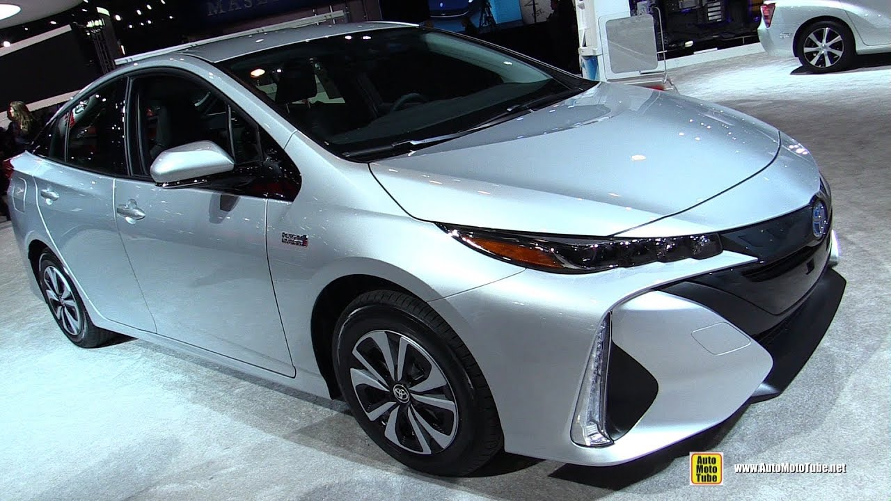 2018 Toyota Prius Prime Exterior And Interior Walkaround New York Auto Show
