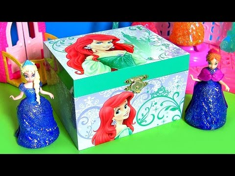 Ariel's Music Box Surprise Disney the Little Mermaid Princess Anna & Elsa Frozen MLP