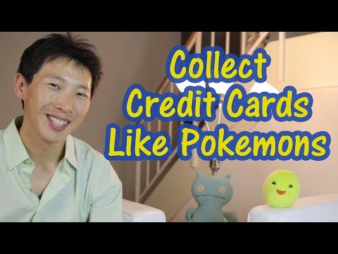 Collect Cash Back Credit Cards like Pokemons Q4 2017