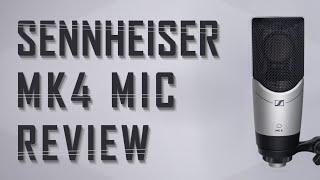 Sennheiser MK4 Condenser Microphone Review / Test