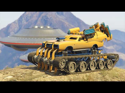 WORLDS BEST MODDED VEHICLE! (GTA 5 Mods Funny Moments)
