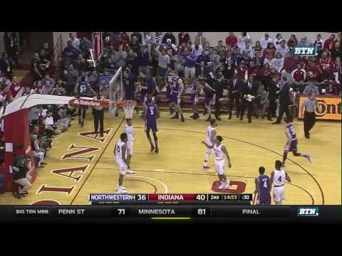 Northwestern at Indiana - Men