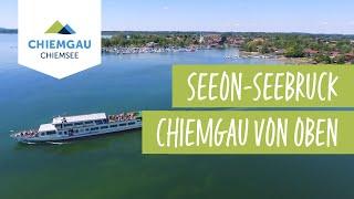 Seebruck-Seeon Chiemsee-Chiemgau Drohnenaufnahme
