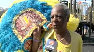Mardi Gras Indian Tribes show off costumes at Super Sunday