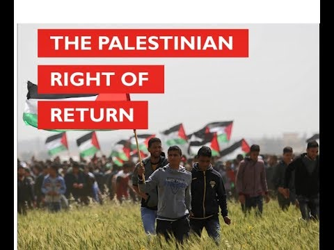 The Palestinian Right Of Return