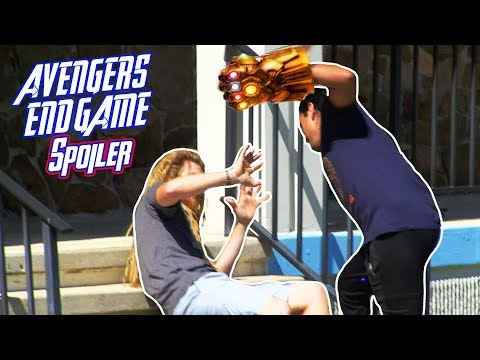 Spoiling The Avengers Endgame Movie Prank (No Actual Spoilers)