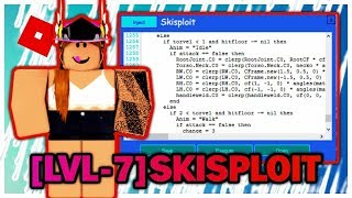 ROBLOX EXPLOIT HACK ! NEW SKISPLOIT LUA & GUI SCRIPT HACK (YENILENDI) (BTOOLS+ALL GAMES)