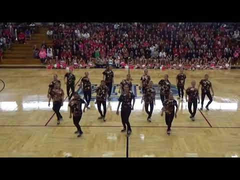 2017-2018 Sparklers - Hip Hop / Pep Rally - Lafayette Game