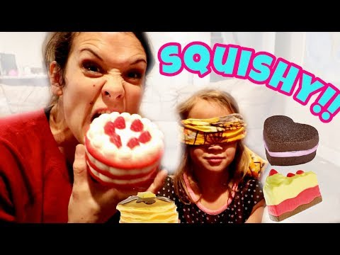 GUESS THE SQUISHY FOOD CHALLENGE