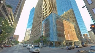 Dallas Vr 360° Drive - 8k 60fps - Main Street - Driving Downtown Usa