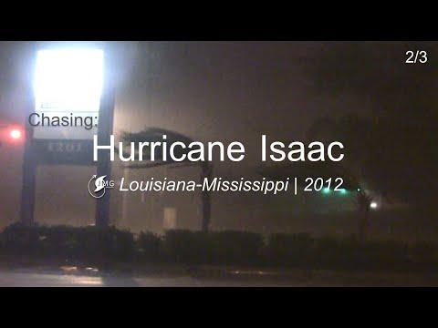 In the Eyewall of Hurricane ISAAC  Marrero, LA 2012: Part II