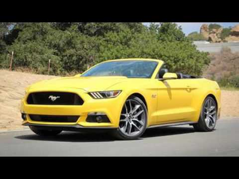 2017 ford mustang gt 5 0 convertible automatic full review youtube. Black Bedroom Furniture Sets. Home Design Ideas