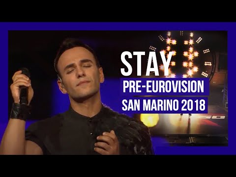 Juda Gavra - Stay (Eurovision 2018 San Marino Finals)