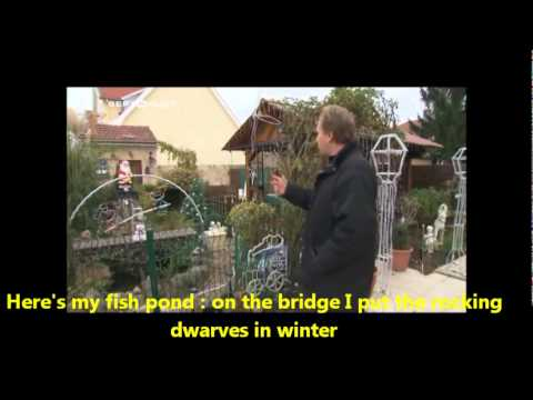 Me on French channel 1 (TF1) in French with subtitles