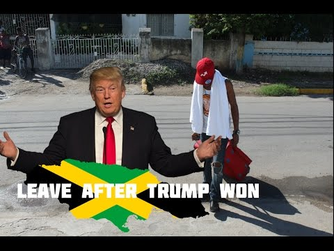 Jamaican Leave After Donald Trump Won Election @JnelComedy