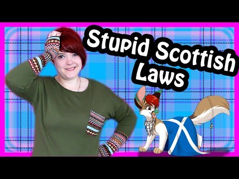 Stupid Scottish Laws