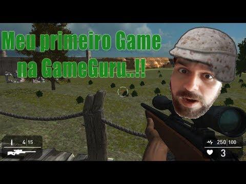 Jogo teste no Game Guru |