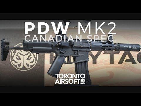 Krytac PDW MK2 Review - TorontoAirsoft.com