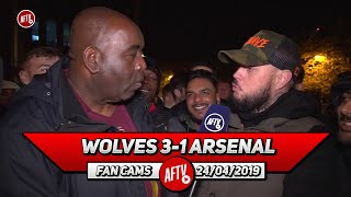 Wolves 3-1 Arsenal | Nketia Did More In 15 Mins Than Mkhitaryan Has In a Month! (DT Rant)