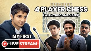 4 PLAYER CHESS WITH THE COMEDIANS