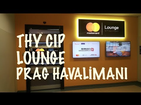 PRAG HAVALİMANI THY CIP LOUNGE / Gezi Notlarım