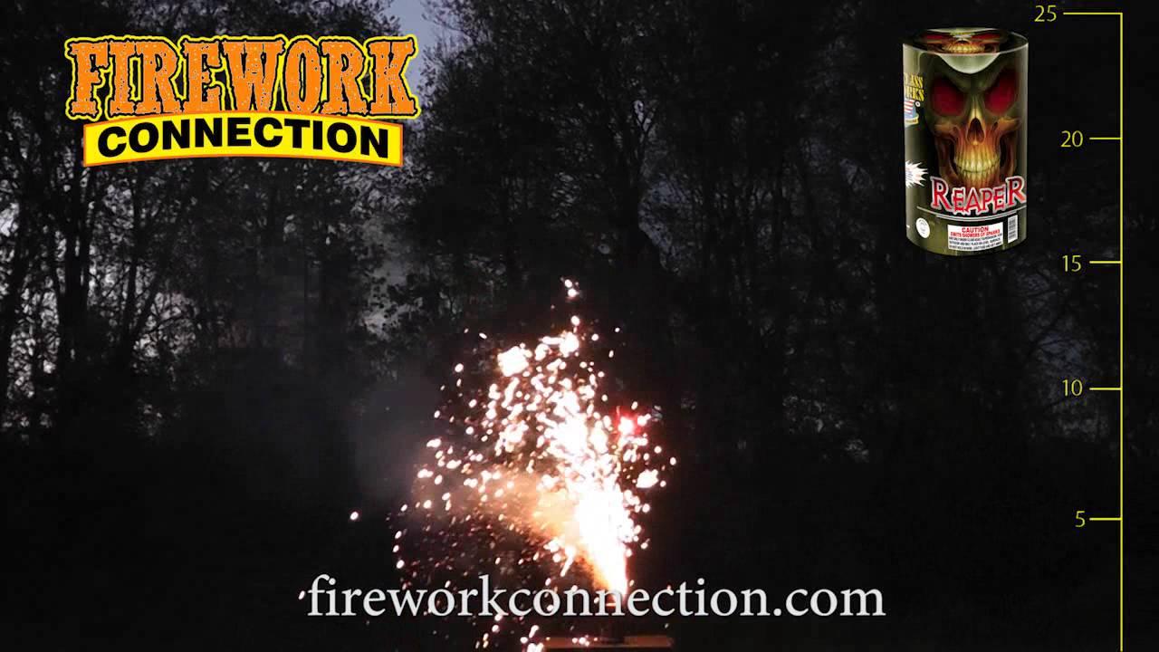 Reaper Firework Fountain by World Class - YouTube