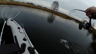 Рыбалка со спиннингом на воблеры! Щука в октябре 2019!