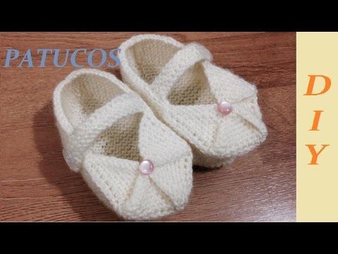 O Patucos Youtube Cómo Zapatitos Tejer Bebé De qMpSzVU