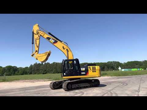 Used heavy machinery Caterpillar 323D Crawler excavator