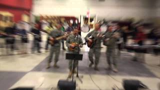 "U.S. Army Six Strings Soldiers band - ""When Johnny Comes Marching Home"""