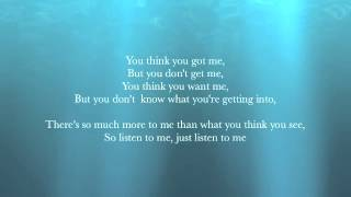 Elizabeth Gillies- You Don't Know Me (lyrics)