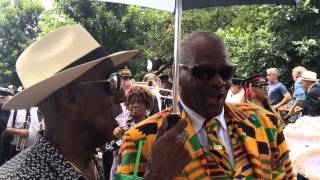 Lionel Ferbos jazz funeral and second line, pt.6