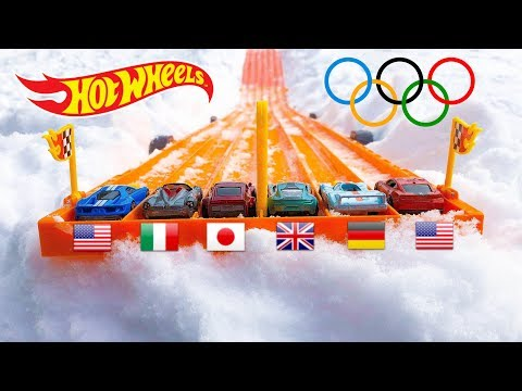 Hot Wheels Winter Olympic Race