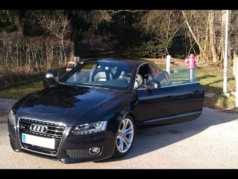 audi a5 3 0 tdi with ebersp cher v8 soundmodul doovi. Black Bedroom Furniture Sets. Home Design Ideas