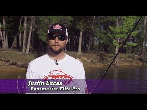 Berkley® PowerBait® MaxScent - Pro Tip Video with Justin Lucas