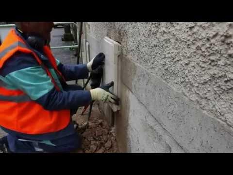Les étapes pour l'encastrement d'un coffret gaz par GrDF