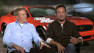 Need For Speed Interview - Scott Waugh & Lance Gilbert (2014) - Aaron Paul