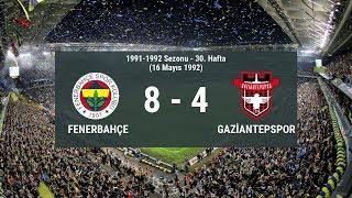 Süper Lig Tarihindeki En Gollü Fenerbahçe Maçları