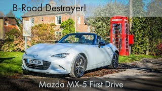 Mazda MX-5 First Drive: B-Road Destroyer!