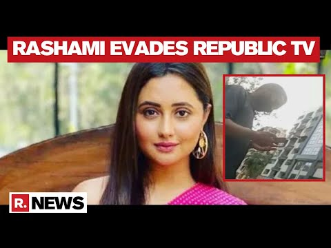 Disha Death Case: Actor Rashami Desai Tracked, Avoids Republic TV's Cameras