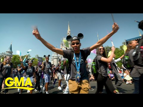How The Disney Dreamers Mentorship Program Is Changing Lives   GMA