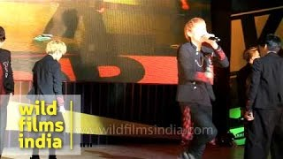 N.Sonic special performance at K-Pop Festival, India