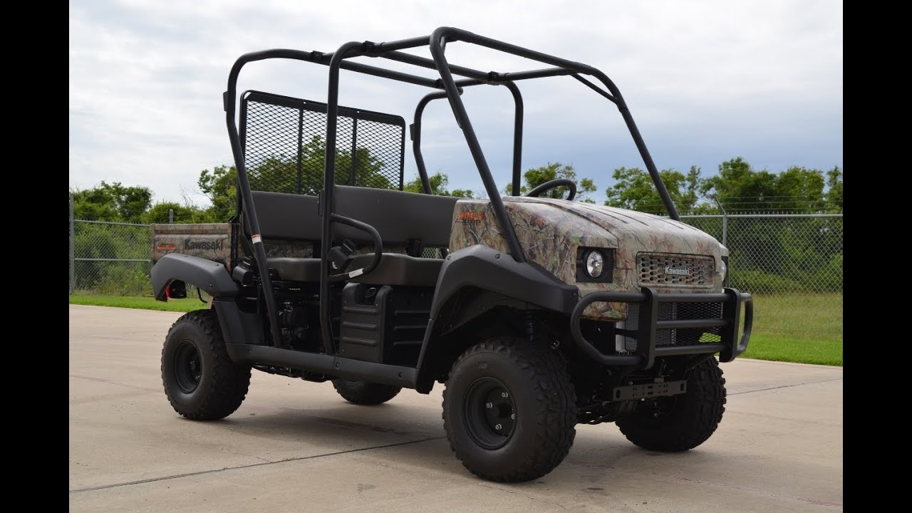 sale $10,649: 2014 kawasaki mule 4010 trans camo overview and
