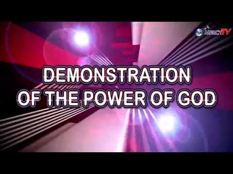 DEMOSTRATION OF THE POWER OF GOD