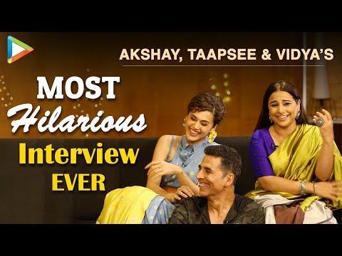Akshay, Taapsee & Vidya's FUNNIEST Interview | Mission Mangal | Rapid Fire | Superb Quiz Mp3