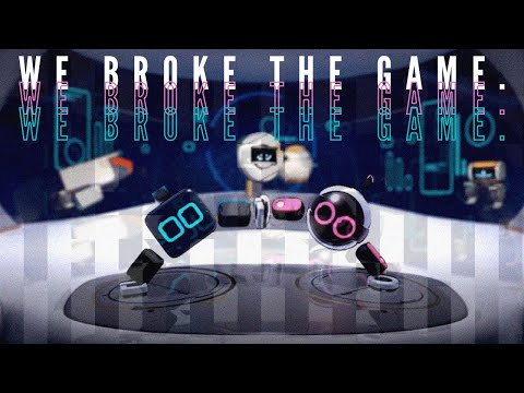 Biped - We broke the game!  
